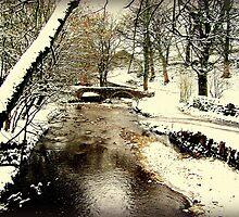 bridge at Wycoller by paul edmondson