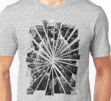 Grayscale Skeleton Unisex T-Shirt