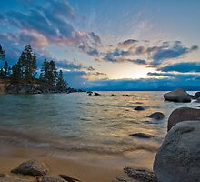 Sunset at Sand Harbor/Diver's Cove by Dianne Phelps