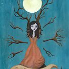 The Moon Maiden by LeaBarozzi