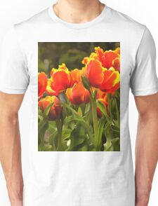 Spring Tulip Blossoms Unisex T-Shirt