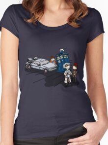 Doctor Meets Doctor Women's Fitted Scoop T-Shirt