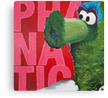 Philadelphia Phanatic Painting Canvas Print