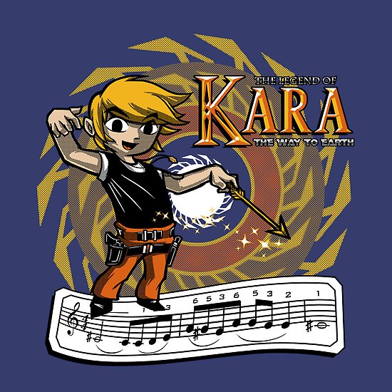The Legend of Kara by Punksthetic