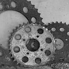 old abandoned motorcycle gears by jazz4ev