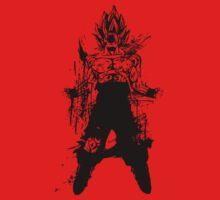 Saiyan Power up by ninjahideout