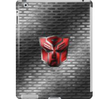 Autobot Symbol - Damaged Metal 2 iPad Case/Skin