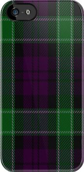 02174 Graham of Mentieth Plaid Artefact Tartan Fabric Print Iphone Case by Detnecs2013