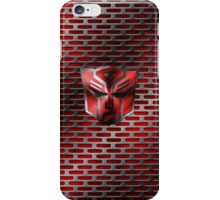 Autobot Symbol - Damaged Metal 4 iPhone Case/Skin
