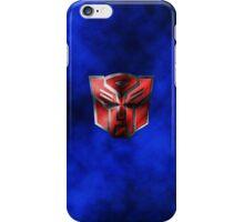 Autobot Symbol - Damaged Metal 5 iPhone Case/Skin