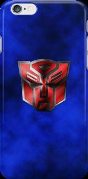 Autobot Symbol - Damaged Metal 5 by Jeffery Borchert