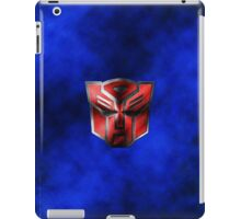 Autobot Symbol - Damaged Metal 5 iPad Case/Skin