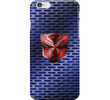 Autobot Symbol - Damaged Metal 6 iPhone Case/Skin