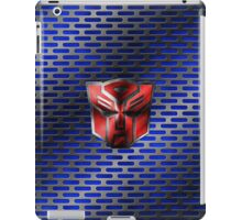 Autobot Symbol - Damaged Metal 6 iPad Case/Skin