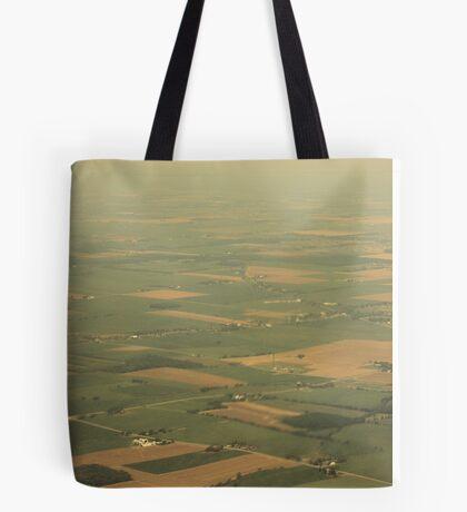 Patchwork Ohio Tote Bag