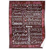 Amazing Women Poster