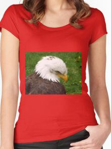 The American Bald Eagle Women's Fitted Scoop T-Shirt