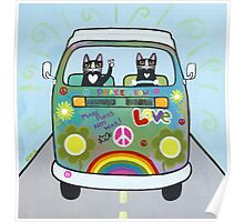 The Hippie Bus Poster
