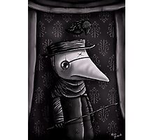 The Plague Doctor Photographic Print