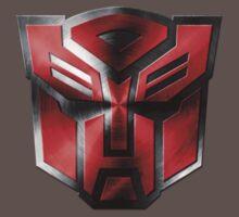Autobot Symbol - Brushed Metal 4 Kids Clothes