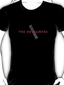 The De-Vamper (Clothing/pink/gray design) T-Shirt