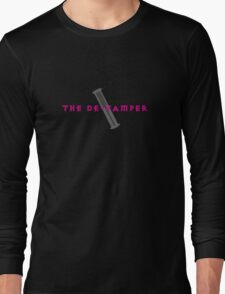 The De-Vamper (Clothing/pink/gray design) Long Sleeve T-Shirt