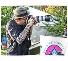 The Tattoed Photographer Poster