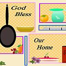 KITCHEN BLESSING by Rue McDowell