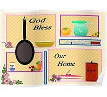 KITCHEN BLESSING Poster