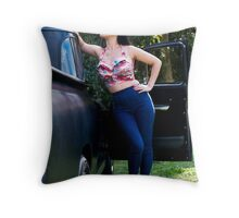 Anna Mei 1 Throw Pillow