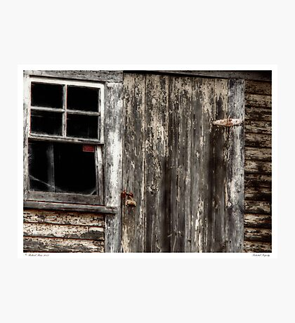 Protected Property Photographic Print