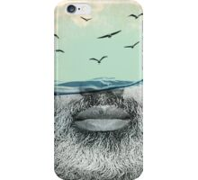 under the water line iPhone Case/Skin