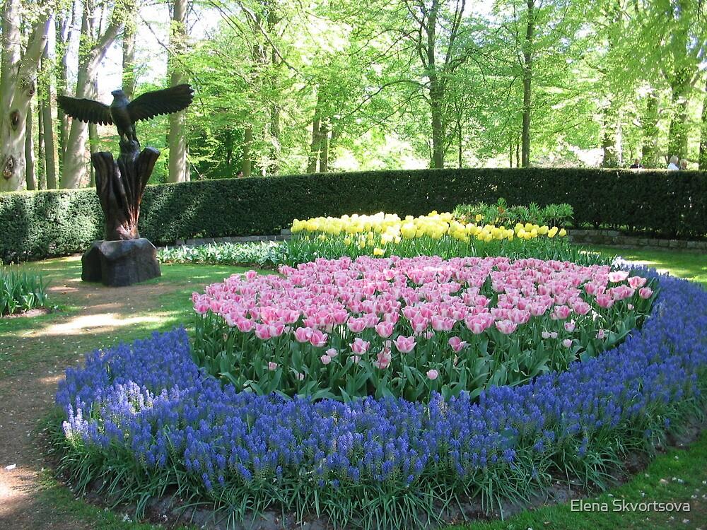 Spring garden by Elena Skvortsova