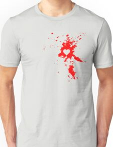 Heart Splatter Unisex T-Shirt