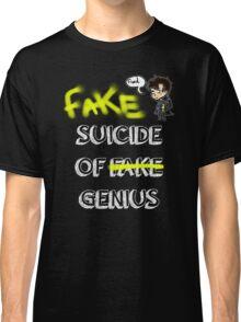 Fake suicide of genius. Classic T-Shirt