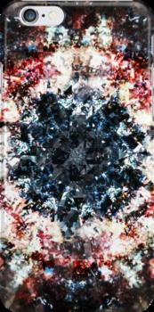 Glitch Kaleidoscope #1 by delahey