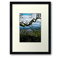 the crossing 2 Framed Print