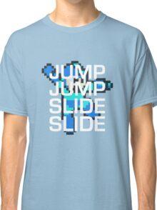 Mega Man: Jump Jump Slide Slide Classic T-Shirt