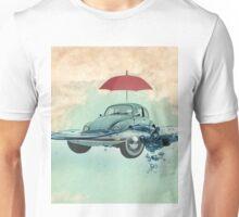 vw beetle, chance of rain, in deep water Unisex T-Shirt