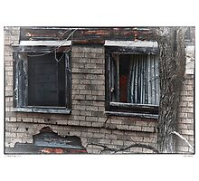 Vacant Windows Photographic Print