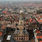 Delft - A View From The Nieuwe Kerk 2 by rsangsterkelly