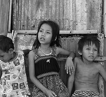 Village Children Cambodia by sarcalder