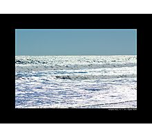 Atlantic Ocean In The Afternoon - Hampton Bays, New York  Photographic Print
