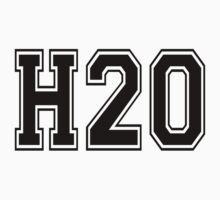 H2O [Varsity Font] by Tom Steinberg
