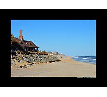 Atlantic Ocean Beach - Southampton, New York  Photographic Print