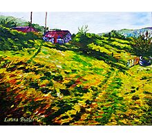 The Old Cottage at Straidkilly, Glencloy, County Antrim Photographic Print