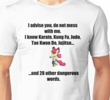 Applebloom knows Karate... Unisex T-Shirt