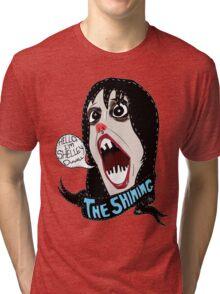 Hello, I'm Shelley Duvall Tri-blend T-Shirt