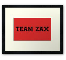 Team Zax [3] Framed Print