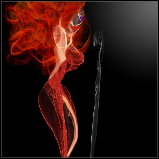 Smokin' Jessica Rabbit by SamanthaJulain
